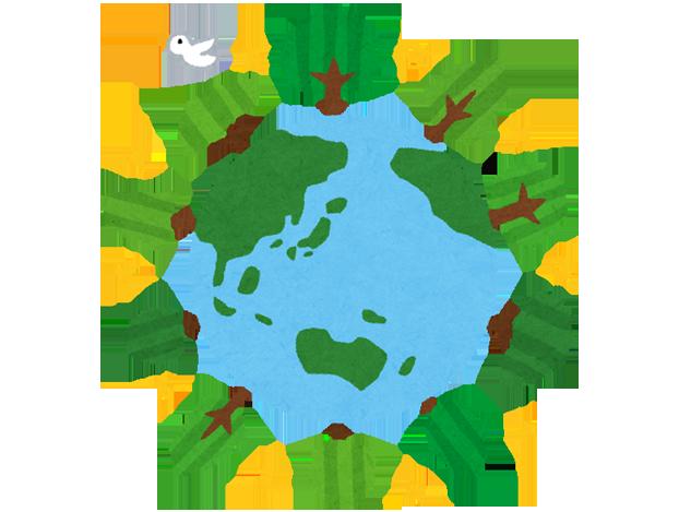 Garbage, environmental image image